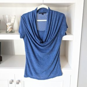 4/$30 Katherine Barclay Cowl Neck Top - Medium